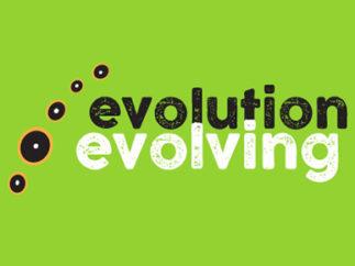 Evolution Evolving conference logo