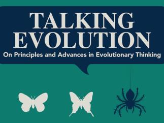 Talking Evolution conference logo