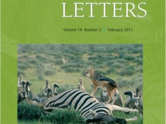 Ecology Letters 14 front cover