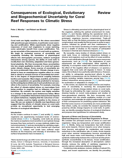 Abstract from Current Biology 24
