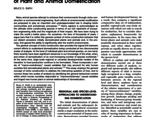 Abstract from EvolutionaryAnthropology 16