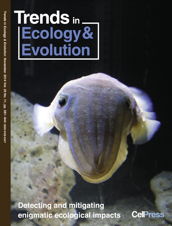 Trends in Ecology & Evolution front cover