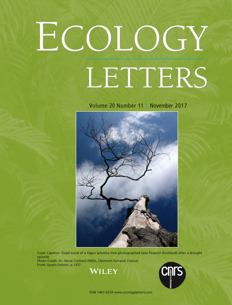 Abstract from Ecology Letters