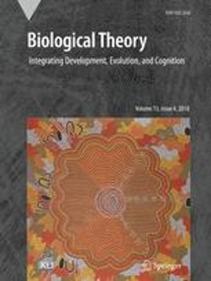 Front cover Biological Theory