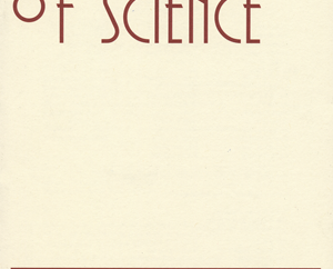 Philosophy of Science front cover