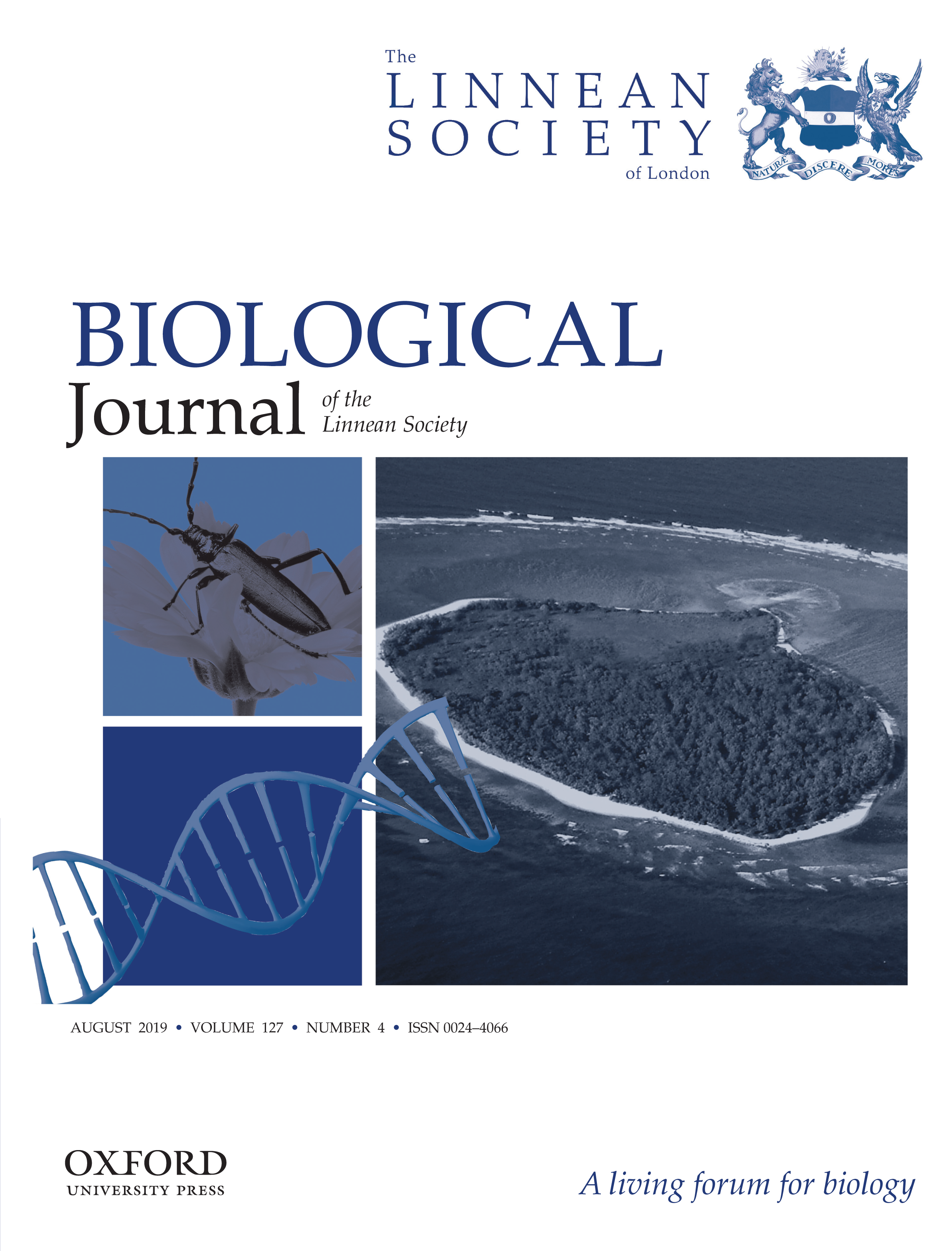 Front cover Biological Journal